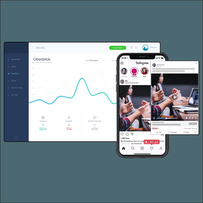 Dashboard Videomarketing