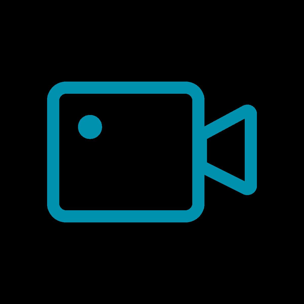 Filmproduktion Camera Icon